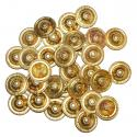 Turkoman Brass Buttons, Tribal Dance DIY Supplies