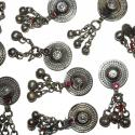 Tribal Belly Dance Buttons, Turkoman Buttons