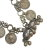 Vintage Rajasthani Tribal Coin Necklace - Heavy Indian Tribal Chain Coins for Belly Dance Costuming