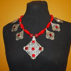 Moroccan Tribal Necklace