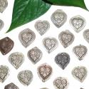 Heart Amulets, Tribal Amulets, Tribal Stamps