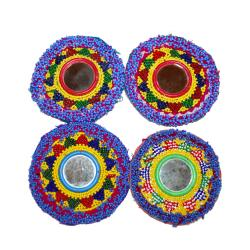Tribal Belly Dance DIY Bead Medallions Gul