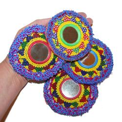 Tribal Belly Dance DIY Kuchi Bead Medallions Gul