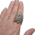 Vintage Kuchi Tribal Ring Belly Dance Jewelry