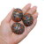 Moroccan Berber Amazigh Taguemout Egg Beads - Set of Three -  Moroccan Enamel Bead, Tribal Belly Dance DIY Bead, Berber