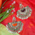 Vintage Kuchi Matakai Pendant Pair for Tribal Belly Dance Costuming DIY
