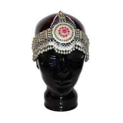 Vintage Tribal Headpiece - Balochi Headwear for Tribal Belly Dance Costuming