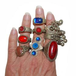 Wholesale / Bulk Tribal Rings - Belly Dance Costuming and Jewelry