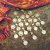 Turkoman Buttons, Tribal Belly Dance buttons