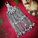 Tribal Belly Dance Waziri Pendant for DIY Costuming - Kuchi Hazara Waziri