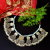 Kuchi Tribal Dangle Coins Necklace for Belly Dance Costuming