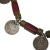 Vintage Nepali Glass Bead and Coin Necklace for Tribal Belly Dance Costuming