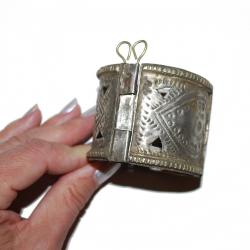 Kuchi Tribal Belly Dance Cuff Bracelet - Tribal Belly Dance Jewelry and Costuming