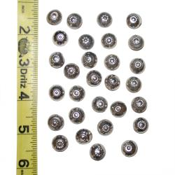 Vintage Tribal Kuchi Dome Stud buttons for Belly Dance DIY Costuming