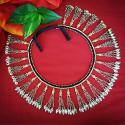 Kuchi Tribal Black Cord Coin Pendants Belly Dance Belt