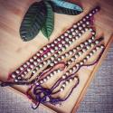 Strings of Vintage Brassy Dome / Stud Tribal Buttons - Tribal Belly Dance Costume DIY Buttons - Kuchi Buttons - Turkoman