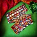 Banjara Vintage Tribal Mirror Work Textile Belt Base - Tribal Belly Dance Costume DIY Textile - Banjara Lambani Ribari