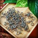 Vintage Tribal ''S'' Hooks - Large Turkoman Jewelry S Hooks - Tribal Belly Dance Costuming and Jewelry DIY