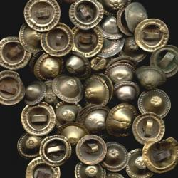 Tribal belly dance buttons, tribal belly dance DIY