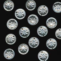 Metal reproduction coins for tribal belly dance costuming, other costuming, crafts and jewelry projects.